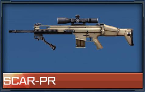 ハイファイ リセマラ当たり武器、銃器 SCAR-PR