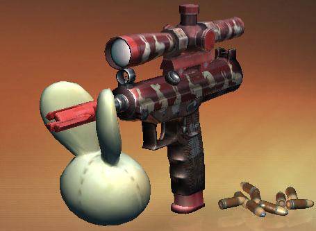 スナイパー3Dアサシン 武器、銃器 Hare Head