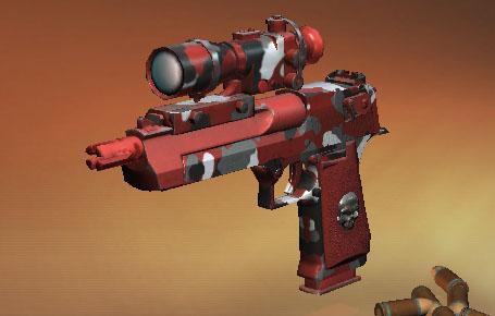スナイパー3Dアサシン 武器、銃器 DesertEagleBOS