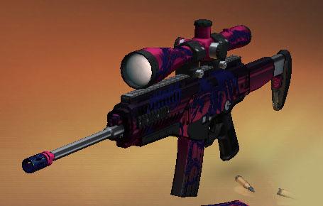 スナイパー3Dアサシン 武器、銃器 BerettaX100BOS