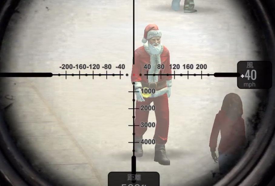 スナイパー3Dアサシン クリスマスイベントでグリンチ登場!限定武器を手に入れよう