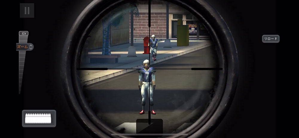 スナイパー3Dアサシン ビッグゲームイベントでフットボールを撃って限定武器を手に入れよう