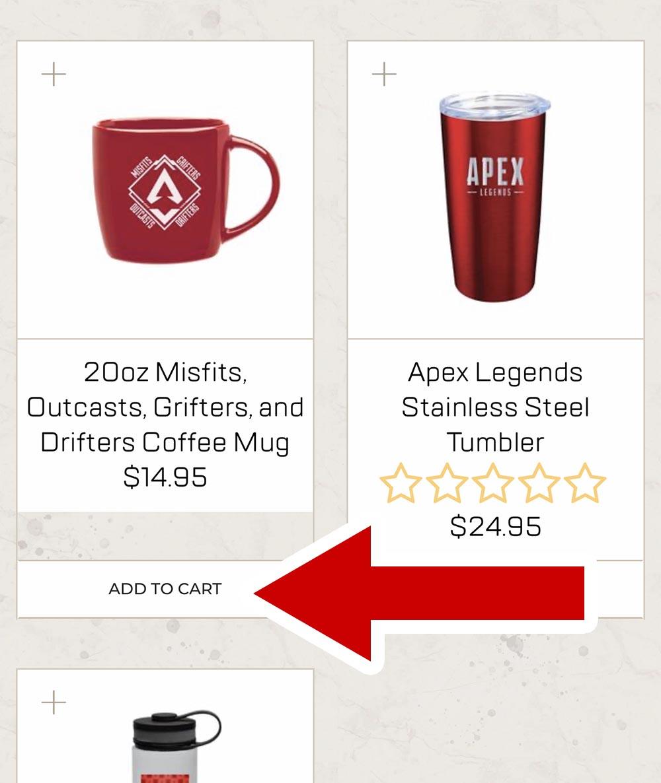 Apex Legendsショップで購入方法